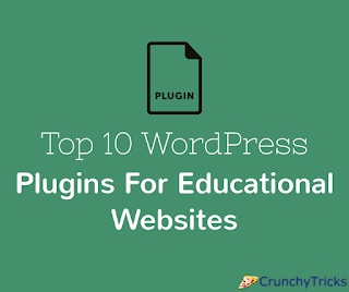 WordPress Plugins For Educational Websites