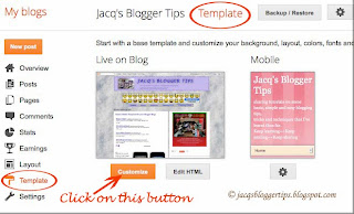 Screenshot to illustrate how to change font style of Page Tabs - Step 3
