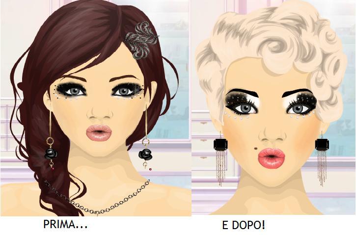 Questo prima e dopo è ispirato a Marilyn Monroe 0d22ec58b53e