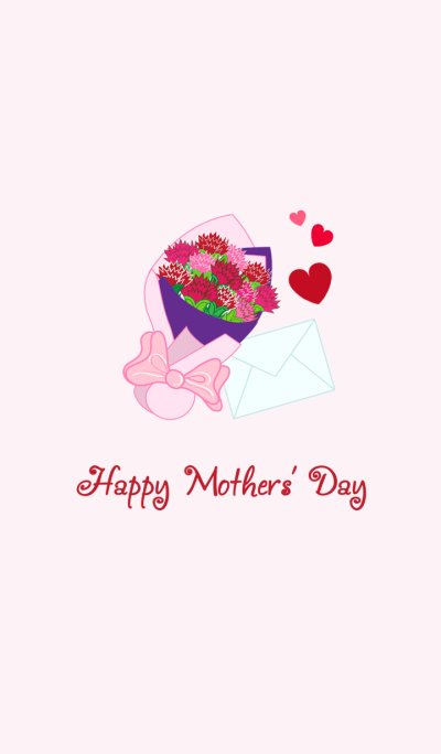 Celebrate Happy Mother's Day-Carnations