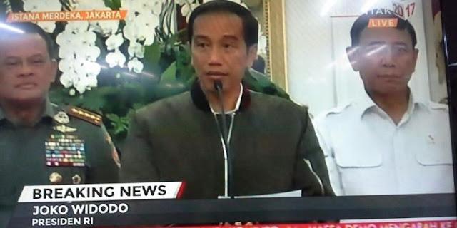Ditanya Penunggang Demo 4 November, Jokowi : Nanti Kita Lihat
