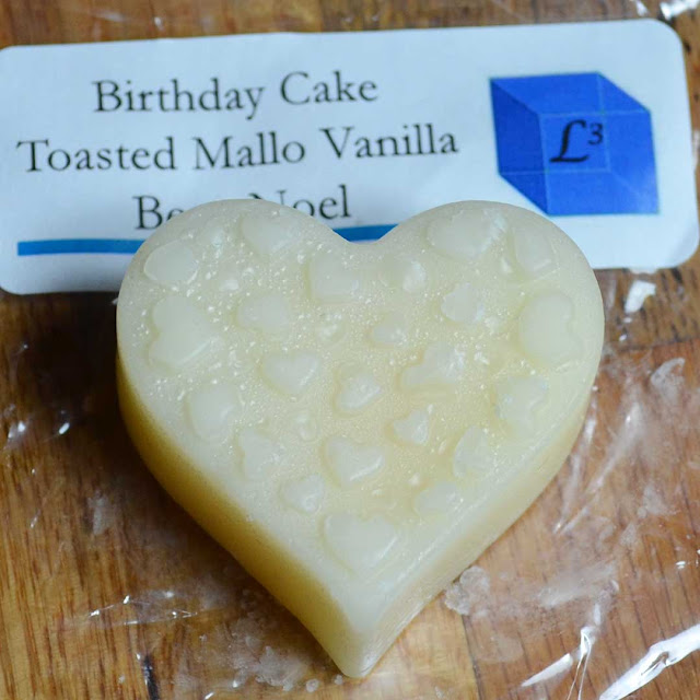 Birthday Cake Toasted Mallow Vanilla Bean Noel wax melt