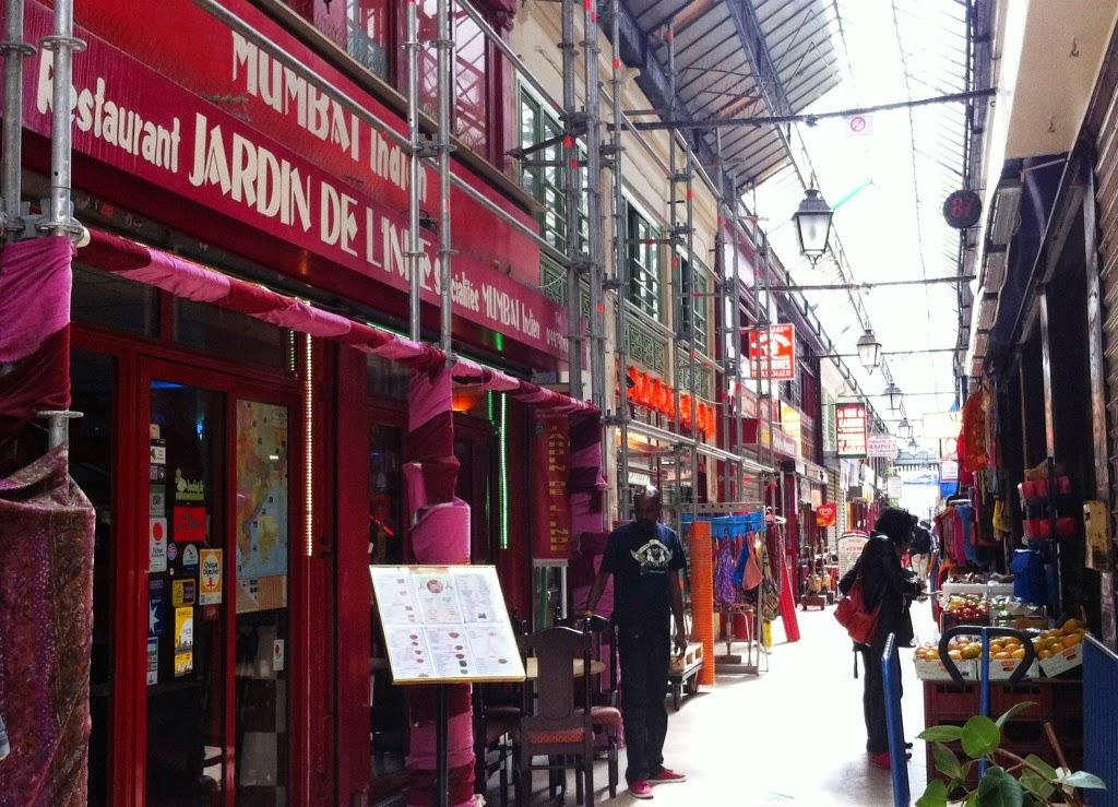 Restaurant Indien  Passage Brady  Paris