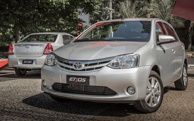 Novo Toyota Etios 2017 - Automático