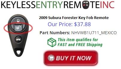 2009 Subaru Forester Key Fob Remote Programming Instructions