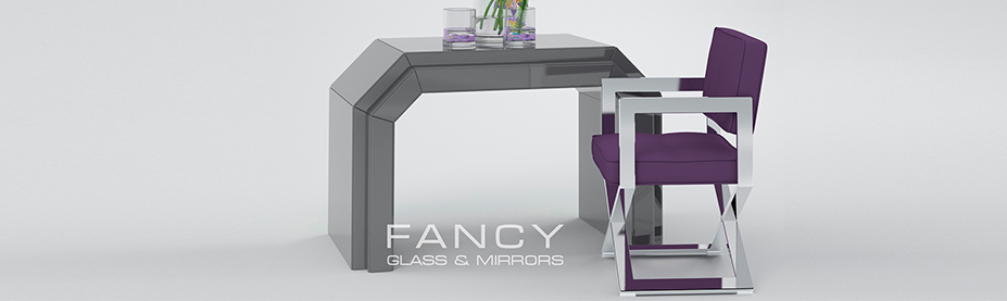 Luxury console mirrored table