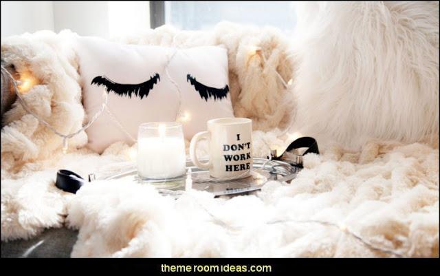 faux fur home decor - fuzzy furry decorations - Flokati - mink - plush - shaggy - faux flokati upholstery - super soft plush bedding - sheepskin - Mongolian lamb faux fur - Faux Fur Throw - faux fur bedding - faux fur blankets - faux fur pillows - faux fur decorating ideas - faux fur bedroom decor - fur decorations - fluffy bedding -