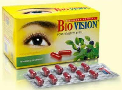 Harga Biovision Suplemen Makanan Kesehatan Mata Terbaru 2017