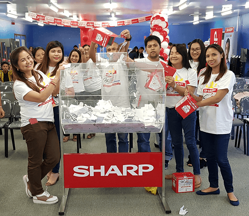 Sharp Philippines announced first batch of winners for We Love Philippines campaign