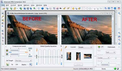 Advanced JPEG Compressor 2012