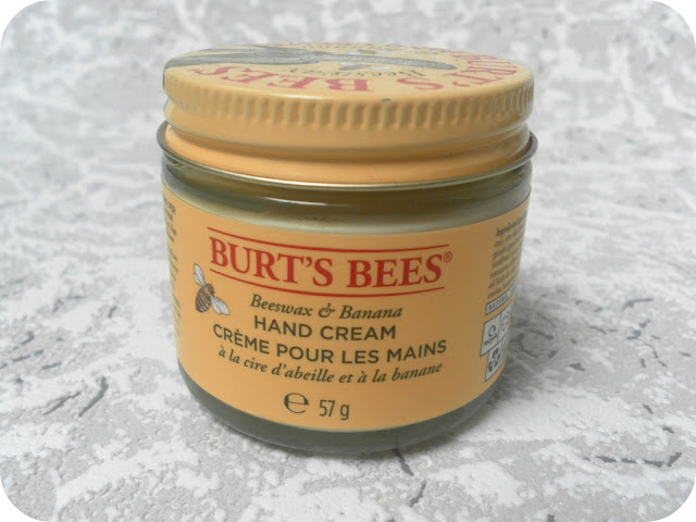 A picture of Burt's Bees Beeswax and Banana Hand Cream