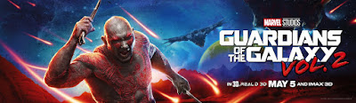 Marvel's Guardians of the Galaxy Vol. 2 Character Movie Banner - Drax