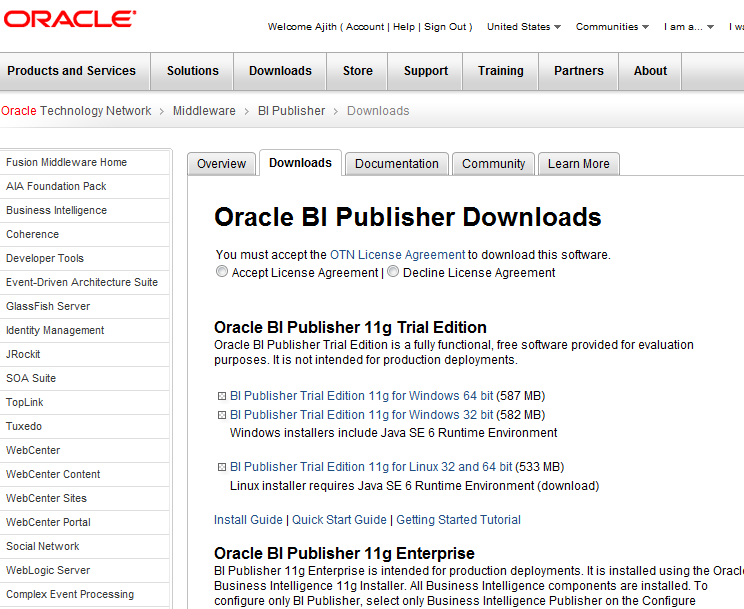 Oracle DBA Scripts: Creating Reports Using Oracle BI Publisher