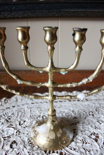 The Easiest DIY Way to Clean a Menorah | Land of Honey