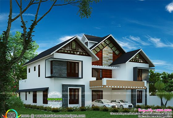 Modern 4 bedroom home in 2401 sq-ft