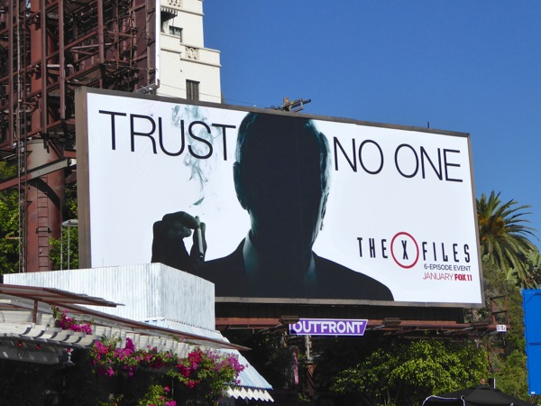 The X-Files revival billboard