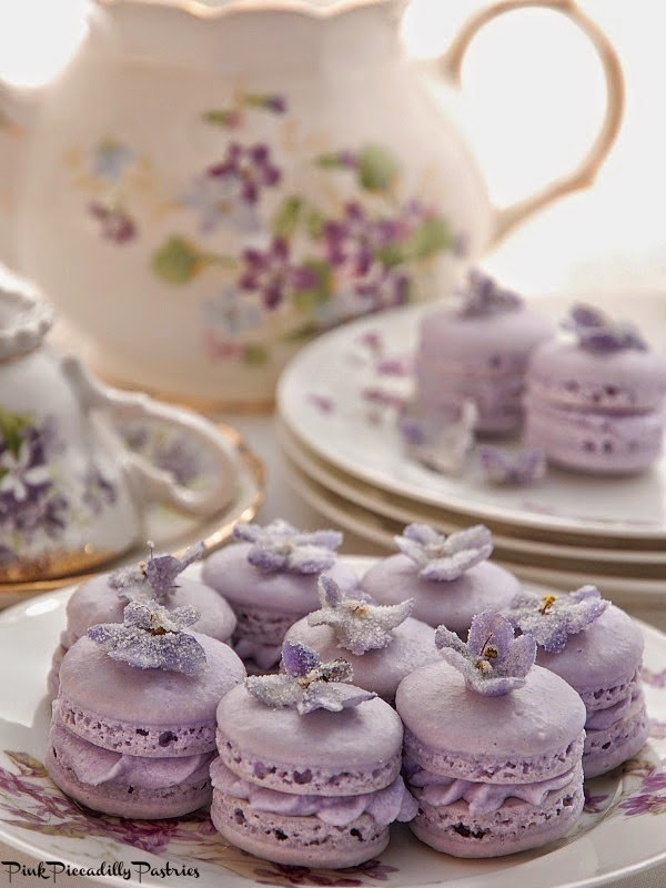 My Violet Macarons were mentioned on The Wedding Chicks