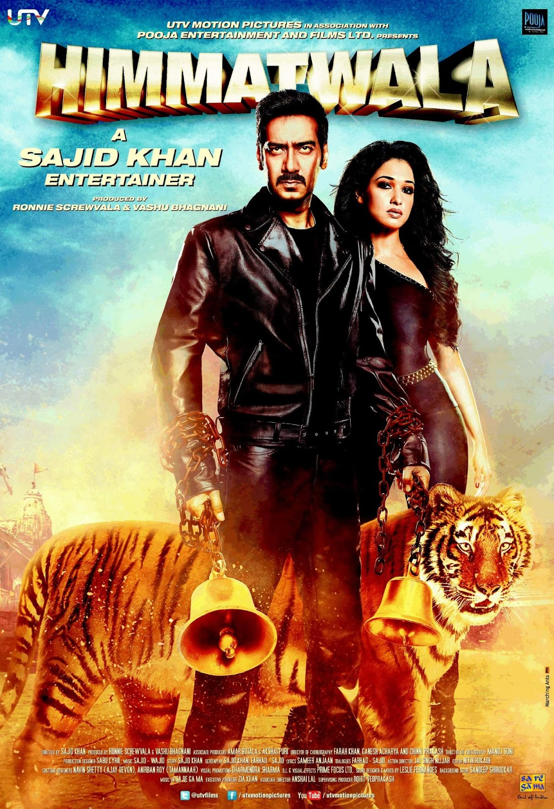Hindi movie himmatwala full video song / Cast of modern