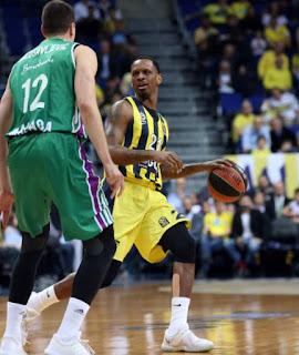 James Nunnally Fenerbahçe Doğuş - Unicaja Malaga