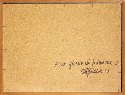 Attilio Ferracin - dipinto del 1973