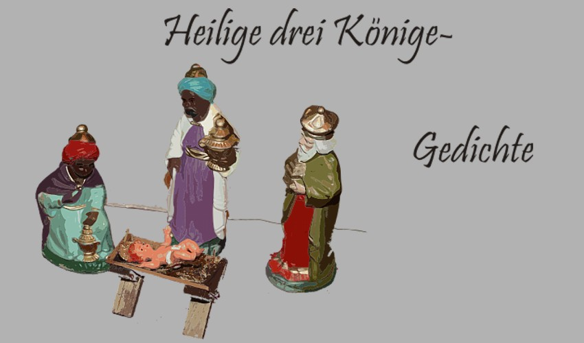 Gedichte Und Zitate Fur Alle Drei Heilige Konige Gedichte Arnim