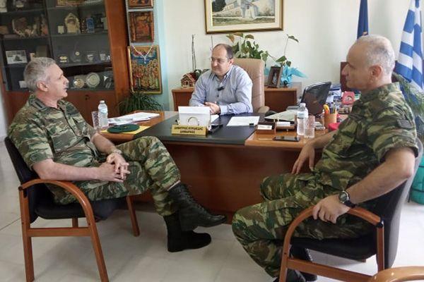 Επίσκεψη Διοικητή 1ης ΜΠ στο Δήμαρχο Κιλκίς-Τι συζητήθηκε σχετικά με μετακίνηση της 71ης ΑΜ Ταξιαρχίας (ΦΩΤΟ)