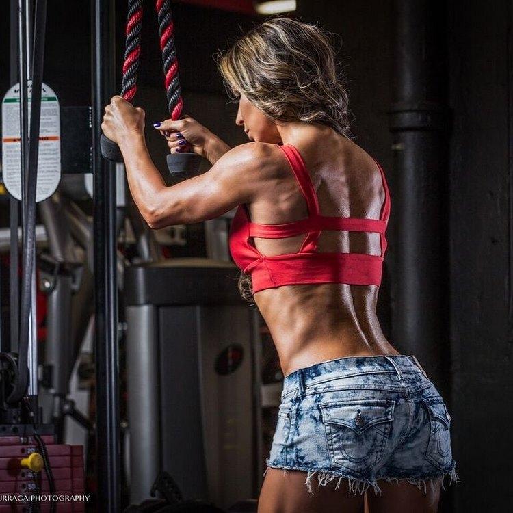 Bikini Fitness Model Marcela Rivas