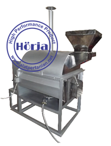 Mesin sangrai kakao coklat kapasitas 10 kg / batch