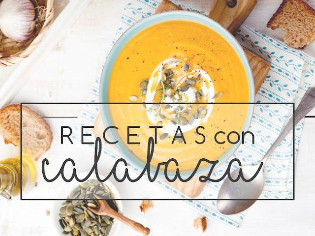 RECETAS con CALABAZA