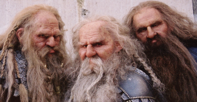 The XP Experience: More Dwarfy Abilities: Dwarf Beard Skills!
