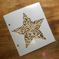http://craftstyle.pl/pl/p/Maska-szablon-GWIAZDA-floral/15182