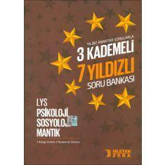 İşleyen Zeka LYS Psikoloji Sosyoloji Mantık 3 Kademeli 7 Yıldızlı Soru Bankası