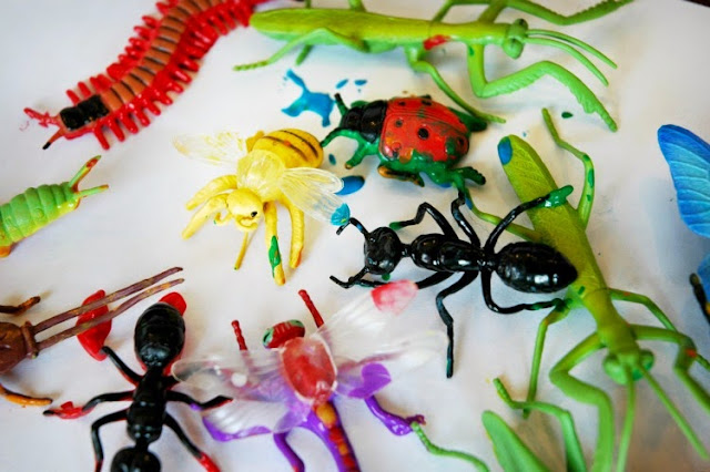 Insect Painting for Kids