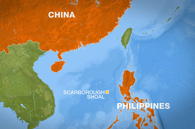 China claims Philippines is violating historical maritime law ... on