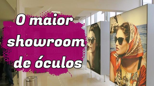 SAX Department e o maior showroom de óculos da América Latina