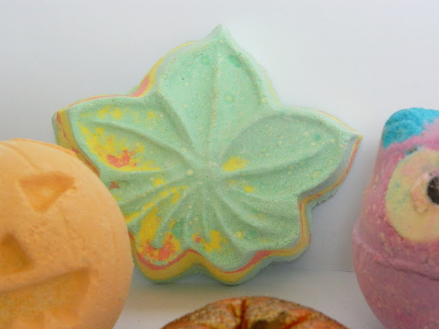 Lush Autumn Leaf Bath Bomb