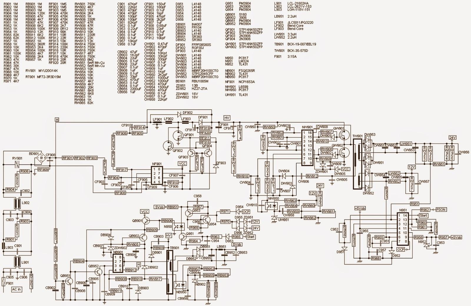 Electro Help  Toshiba Lc-1945w  U2013 Lc-2245w