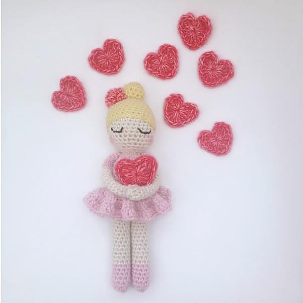 Valentina doll by Marine de Regt Crochetlife
