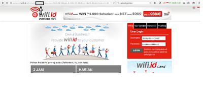 Trik gratis akses jaringan @wifiid