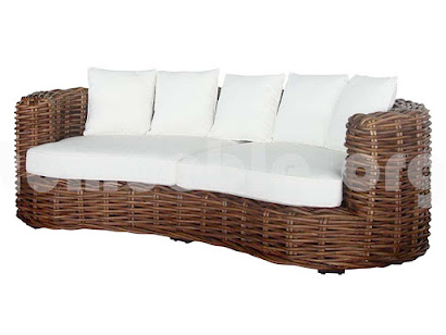 sofa 3 plazas rattan j459