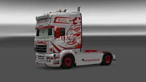 Queen of the Road skin for Scania RJL