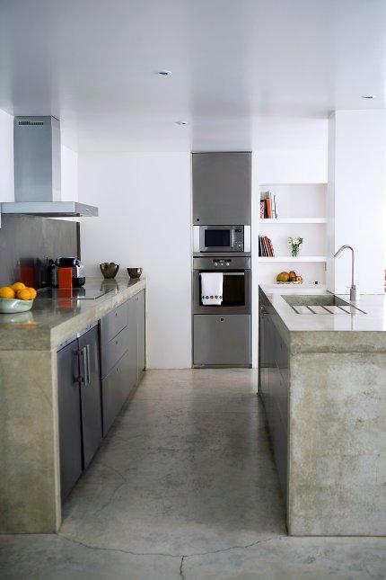 Dise o de cocinas con cemento pulido - Suelos de microcemento precios ...