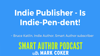 "image reads:  ""Indie Publisher - Is Indie-Pen-dent"""