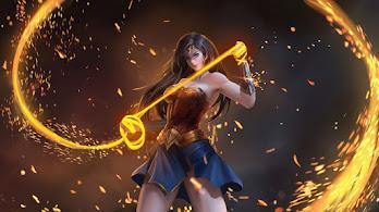 Wonder Woman, Lasso of Truth, 4K, #4.2101