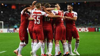 Europa League: Qarabag 0-3 Arsenal - Match Report