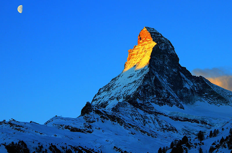 7. Matterhorn, Switzerland - 20 of The Best Places To Watch The Sunset