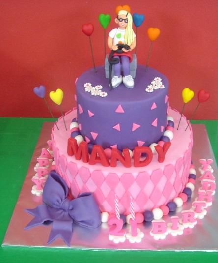 Yochana S Cake Delight Mandy S 21st Birthday Cake