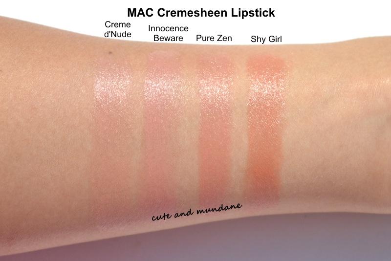 Cremesheen Lipstick by MAC #10