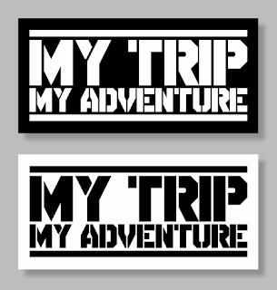 Download Logo & Font My Trip My Adventure