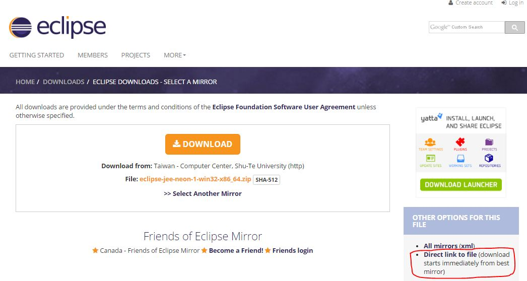 install eclipse on windows 10